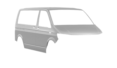 Цвета кузова Transporter Kombi